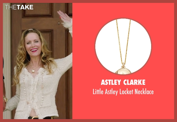 Astley Clarke gold necklace from Vacation seen with Leslie Mann (Audrey Griswold)