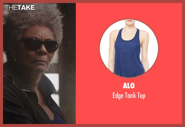 Alo blue top from Deadpool seen with Leslie Uggams (Blind Al)