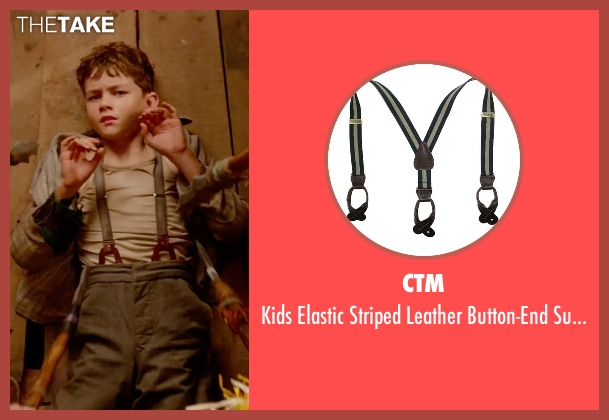 CTM black suspenders from Pan seen with Levi Miller (Peter Pan)