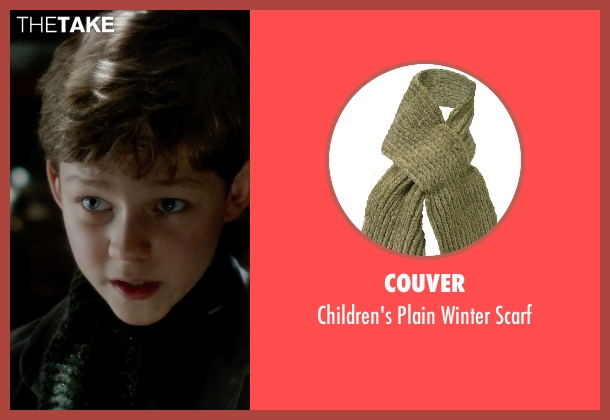 Couver green scarf from Pan seen with Levi Miller (Peter Pan)