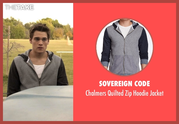 Sovereign Code gray jacket from Teen Wolf seen with Liam Dunbar (Dylan Sprayberry)