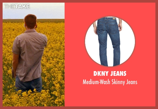 DKNY Jeans blue jeans from Cut Bank seen with Liam Hemsworth (Dwayne McLaren)