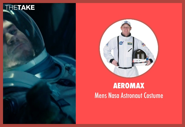 Aeromax white costume from Independence Day: Resurgence seen with Liam Hemsworth (Jake Morrison)