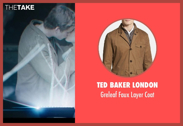 Ted Baker London brown coat from The Hunger Games: Catching Fire seen with Liam Hemsworth (Gale Hawthorne)