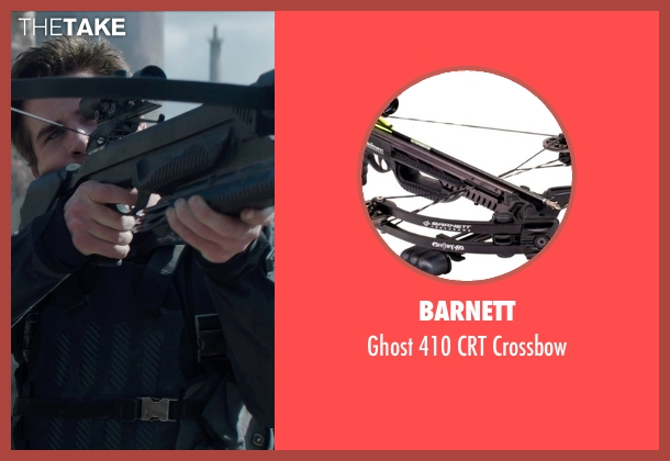 Barnett crossbow from The Hunger Games: Mockingjay Part 1 seen with Liam Hemsworth (Gale Hawthorne)