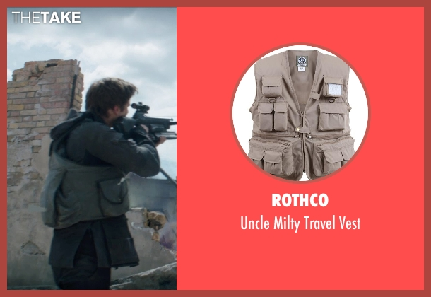 Rothco vest from The Hunger Games: Mockingjay Part 1 seen with Liam Hemsworth (Gale Hawthorne)