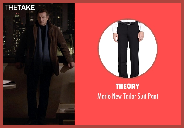 Theory black pant from A Walk Among The Tombstones seen with Liam Neeson (Matthew Scudder)