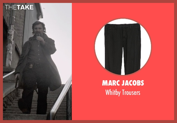 Marc Jacobs black trousers from A Walk Among The Tombstones seen with Liam Neeson (Matthew Scudder)