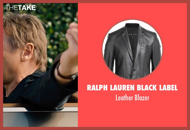 Ralph Lauren Black Label black blazer from Entourage seen with Liam Neeson