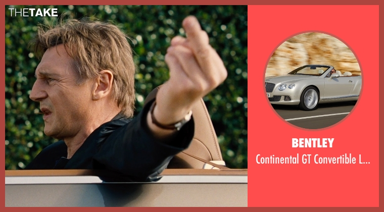 Bentley car from Entourage seen with Liam Neeson (Unknown Character)