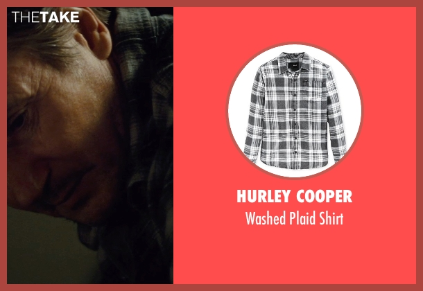 Hurley Cooper black shirt from Run All Night seen with Liam Neeson (Jimmy Conlon)
