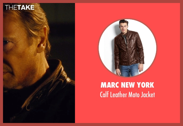 Marc New York brown jacket from Run All Night seen with Liam Neeson (Jimmy Conlon)