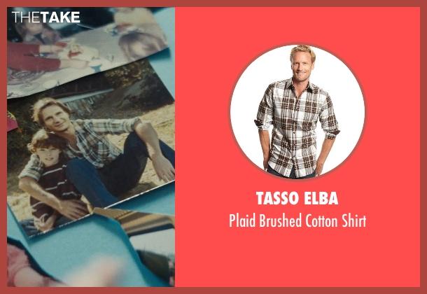 Tasso Elba brown shirt from Run All Night seen with Liam Neeson (Jimmy Conlon)
