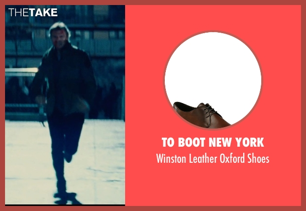 To Boot New York brown shoes from Run All Night seen with Liam Neeson (Jimmy Conlon)