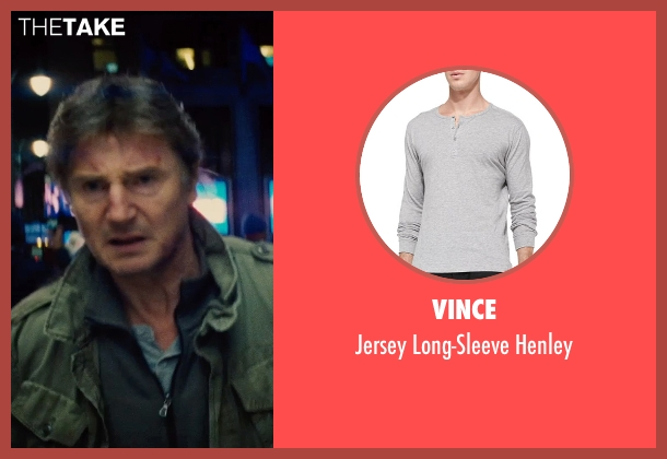Vince gray henley from Run All Night seen with Liam Neeson (Jimmy Conlon)