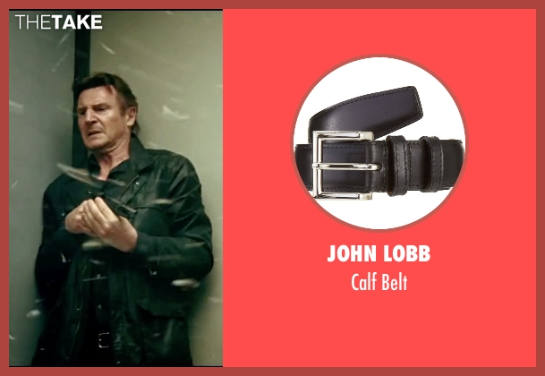 John Lobb black belt from Taken 3 seen with Liam Neeson (Bryan Mills)