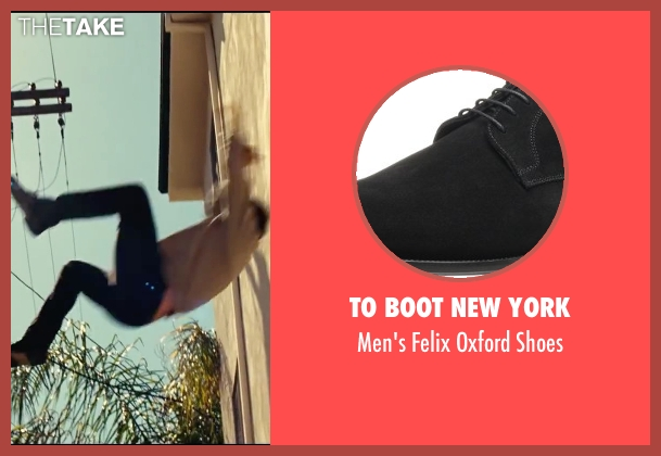 To Boot New York black shoes from Taken 3 seen with Liam Neeson (Bryan Mills)