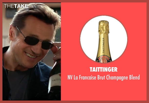 Taittinger blend from Taken 3 seen with Liam Neeson (Bryan Mills)