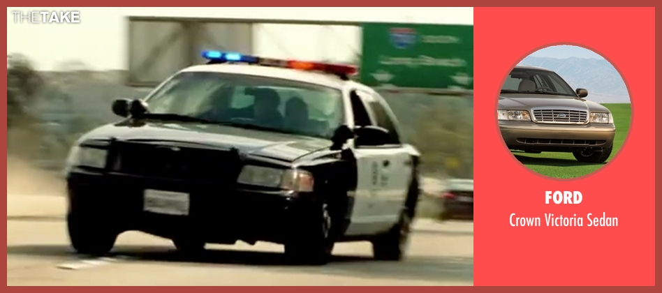 Ford sedan from Taken 3 seen with Liam Neeson (Bryan Mills)