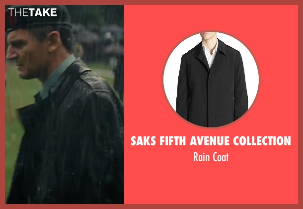 Saks Fifth Avenue Collection black coat from The A-Team seen with Liam Neeson (Hannibal)