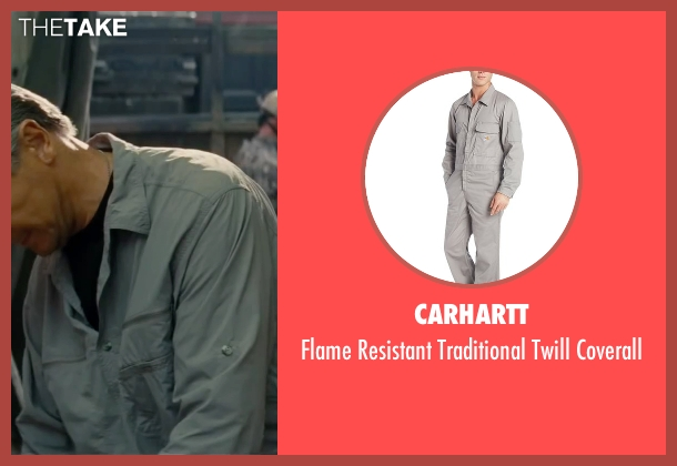 Carhartt blue coverall from The A-Team seen with Liam Neeson (Hannibal)