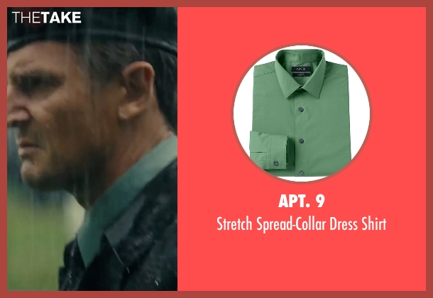 Apt. 9 green shirt from The A-Team seen with Liam Neeson (Hannibal)