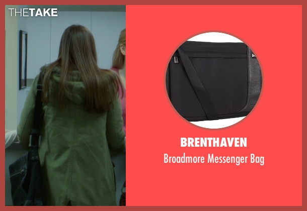 Brenthaven black bag from If I Stay seen with Liana Liberato (Kim Schein)