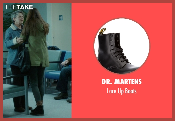Dr. Martens black boots from If I Stay seen with Liana Liberato (Kim Schein)