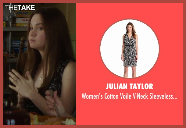 Julian Taylor black dress from If I Stay seen with Liana Liberato (Kim Schein)