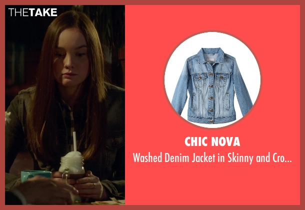 Chic Nova blue fit from If I Stay seen with Liana Liberato (Kim Schein)