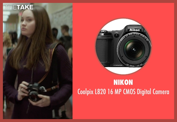 Nikon camera from If I Stay seen with Liana Liberato (Kim Schein)