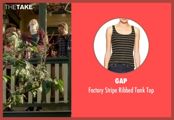 Gap green top from If I Stay seen with Liana Liberato (Kim Schein)