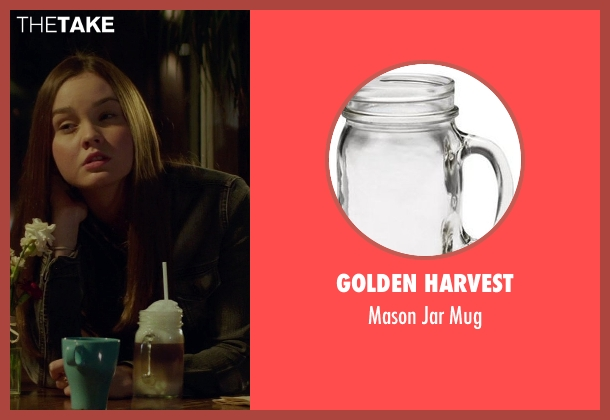 Golden Harvest mug from If I Stay seen with Liana Liberato (Kim Schein)