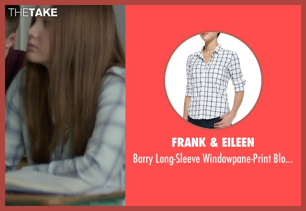 Frank & Eileen white blouse from If I Stay seen with Liana Liberato (Kim Schein)