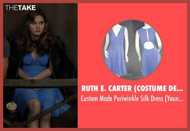 Ruth E. Carter (Costume Designer) blue dress from The Best of Me seen with Liana Liberato (Young Amanda)