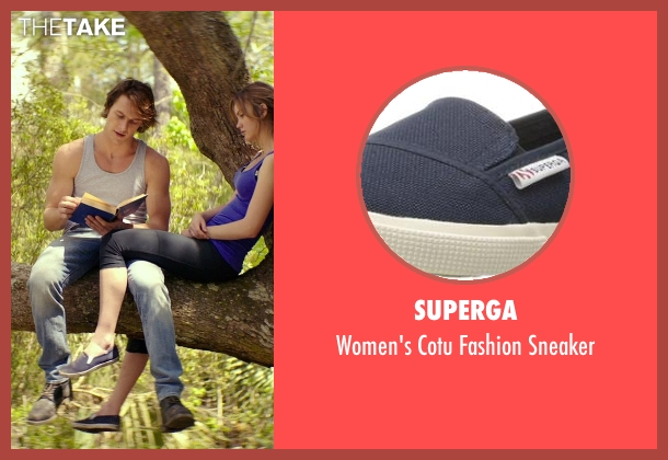 Superga blue sneaker from The Best of Me seen with Liana Liberato (Young Amanda)