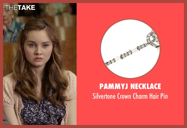 PammyJ Necklace pin from The Best of Me seen with Liana Liberato (Young Amanda)