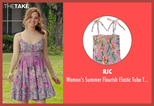 RJC pink sundress from The Best of Me seen with Liana Liberato (Young Amanda)