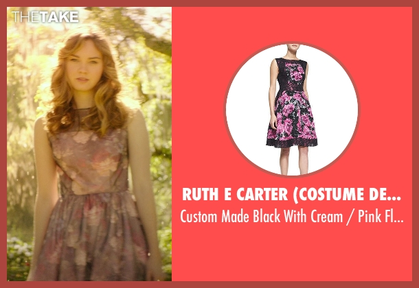 Ruth E Carter (Costume Designer) purple dress from The Best of Me seen with Liana Liberato (Young Amanda)