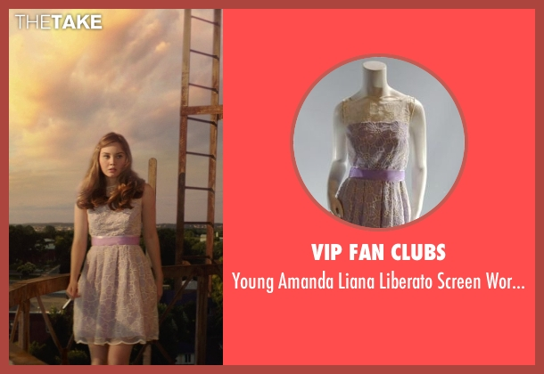 VIP Fan Clubs purple dress from The Best of Me seen with Liana Liberato (Young Amanda)