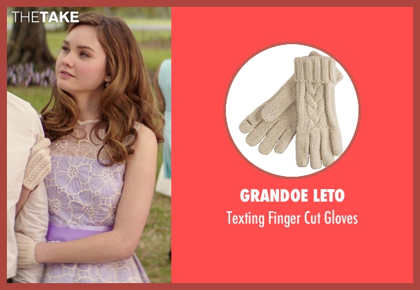 Grandoe Leto white gloves from The Best of Me seen with Liana Liberato (Young Amanda)