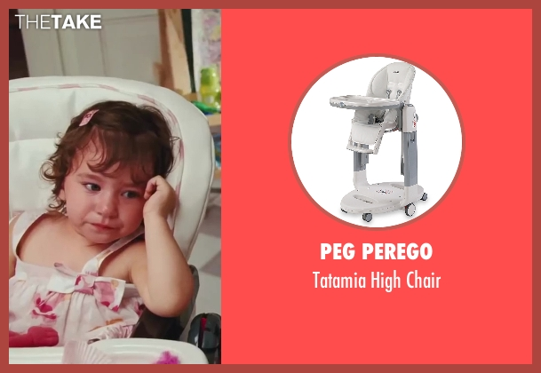 Peg Perego chair from Sex and the City 2 seen with Liliana Pizzuto (Rose)