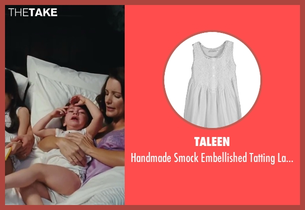 Taleen white nightgown from Sex and the City 2 seen with Liliana Pizzuto (Rose)