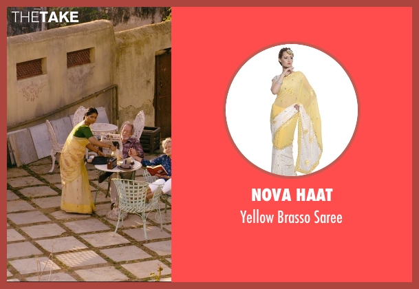 Nova Haat saree from The Second Best Exotic Marigold Hotel seen with Lillete Dubey (Mrs. Kapoor)
