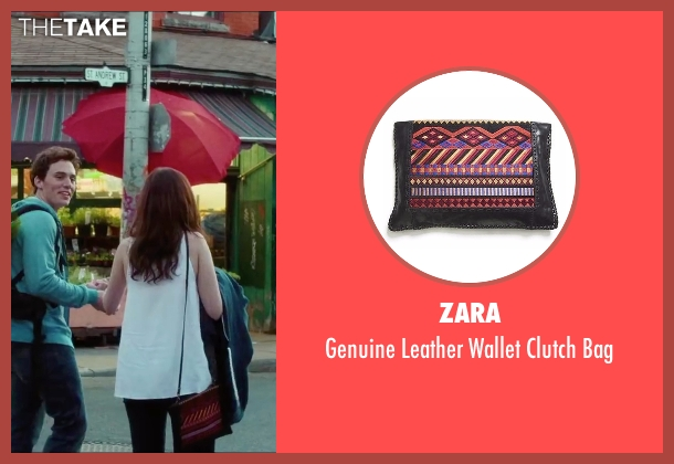 Zara black bag from Love, Rosie seen with Lily Collins (Rosie Dunne)