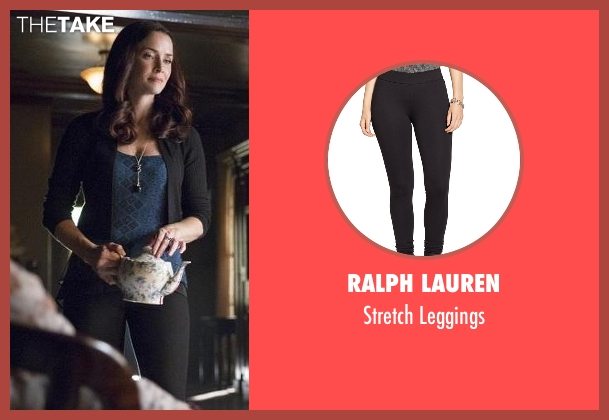 Ralph Lauren black leggings from The Vampire Diaries seen with Lily Salvatore (Annie Wersching)