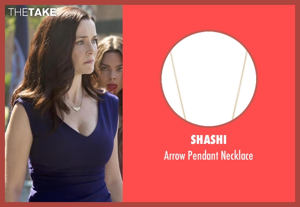 Shashi gold necklace from The Vampire Diaries seen with Lily Salvatore (Annie Wersching)