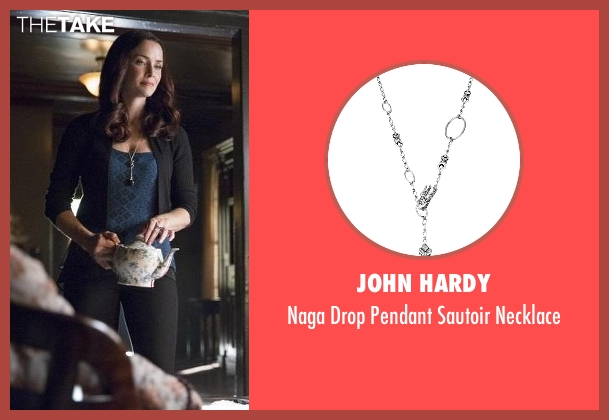 John Hardy silver necklace from The Vampire Diaries seen with Lily Salvatore (Annie Wersching)