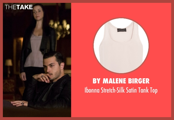 By Malene Birger top from The Vampire Diaries seen with Lily Salvatore (Annie Wersching)