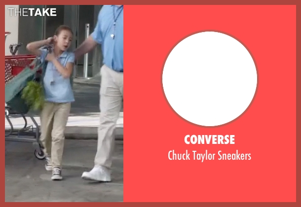 Converse blue sneakers from Modern Family seen with Lily Tucker-Pritchett (Aubrey Anderson-Emmons)